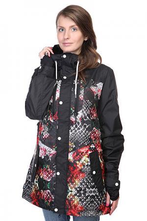 Куртка женская  Falcon Snake/Life Neff. Цвет: черный