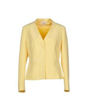 Пиджак H2O ITALIA. Цвет: желтый