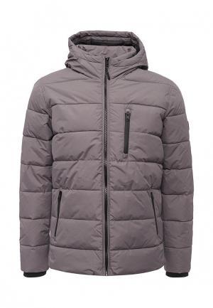 Куртка утепленная Burton Menswear London. Цвет: серый