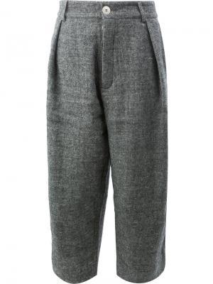 Укороченные брюки  Tinker Toogood. Цвет: серый