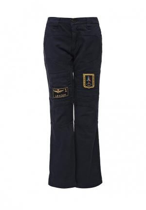 Брюки Aeronautica Militare. Цвет: синий