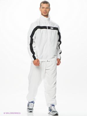 Спортивный костюм NIKE DASH WARMUP. Цвет: белый, черный