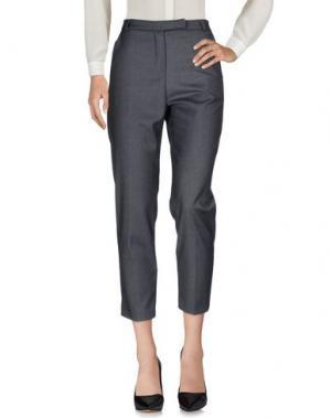 Повседневные брюки ANDREA MORANDO. Цвет: стальной серый
