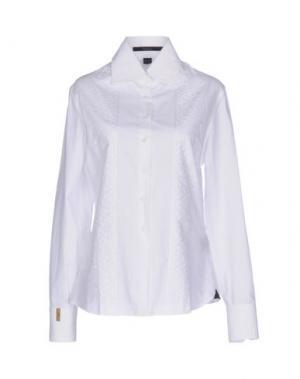 Pубашка BILLIONAIRE. Цвет: белый