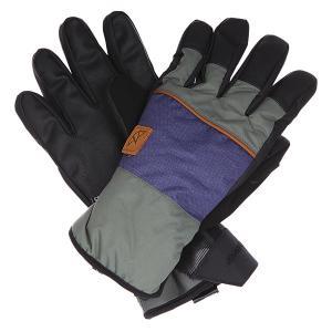 Перчатки сноубордические  Ace Wrangler Celtek. Цвет: черный,фиолетовый,зеленый