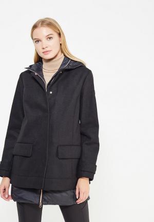 Пальто EA7. Цвет: черный