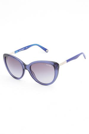Очки солнцезащитные Lucia Valdi. Цвет: синий