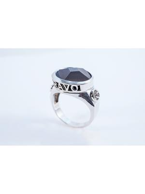 Кольцо Roberto Bravo. Цвет: серебристый, черный