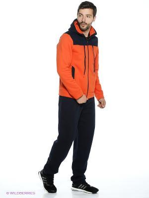 Толстовка ADDIC. Цвет: оранжевый