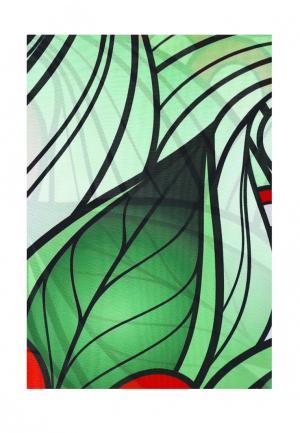 Комплект штор ТОМДОМ. Цвет: разноцветный