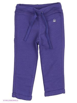 Брюки United Colors of Benetton. Цвет: темно-фиолетовый