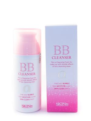 Пенка Bubble BB Cleanser, 100 мл SKIN79. Цвет: белый