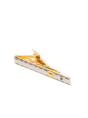 Зажим для галстука Mitya Veselkov. Цвет: золотистый