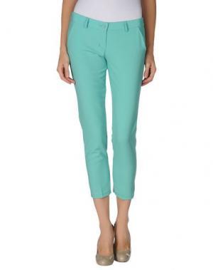 Повседневные брюки LA KORE. Цвет: светло-зеленый