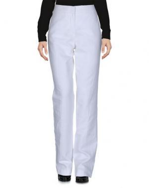 Повседневные брюки NATAN COLLECTION. Цвет: белый