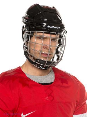 Шлем с маской BAUER 2100 COMBO взрослый. Цвет: черный, серебристый