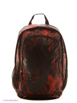 Рюкзак NIKE HAYWARD FUTURA 2.0 - PRIN. Цвет: красный, черный, серый