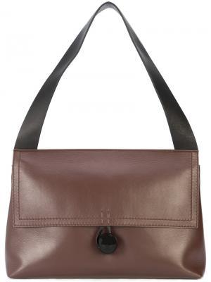 Flap shoulder bag Corto Moltedo. Цвет: красный
