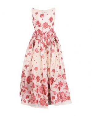 Длинное платье GUIDO MARIA KRETSCHMER. Цвет: бежевый