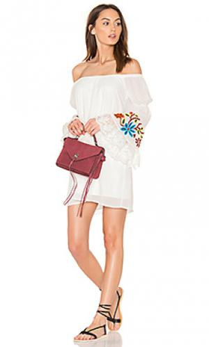 Платье meruvina VAVA by Joy Han. Цвет: белый