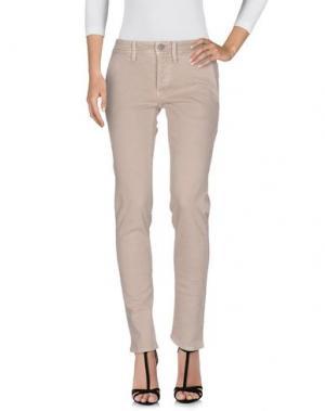 Джинсовые брюки SIVIGLIA. Цвет: голубиный серый