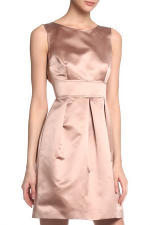 Платье Cinzia Rocca. Цвет: золотисто-бежевый