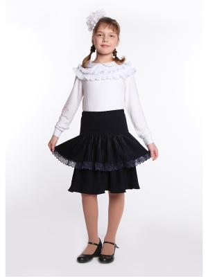 Блуза 80 LVL. Цвет: белый