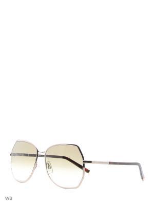 Солнцезащитные очки DQ 0083 34F Dsquared2. Цвет: золотистый