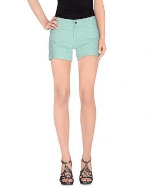 Повседневные шорты FLY GIRL. Цвет: светло-зеленый