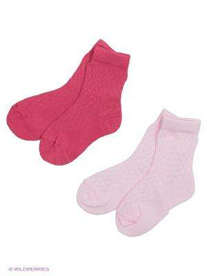 Носки MilanKo. Цвет: розовый, фуксия