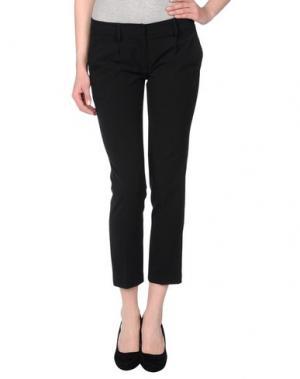 Повседневные брюки MILA SCHÖN CONCEPT. Цвет: черный
