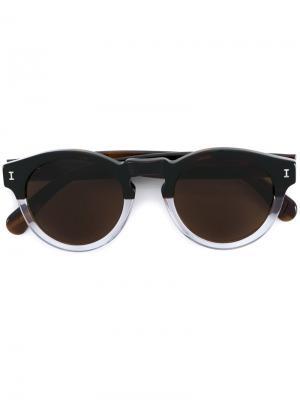Солнцезащитные очки Leonard Illesteva. Цвет: коричневый