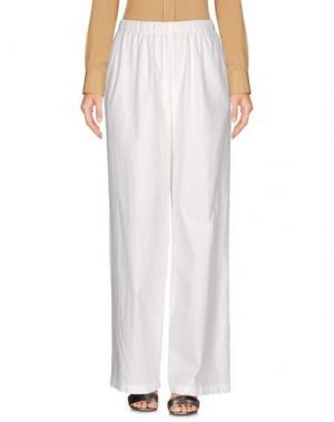 Повседневные брюки MISHAP. Цвет: белый