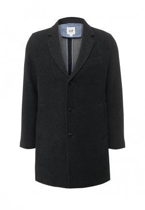 Пальто Gap. Цвет: серый