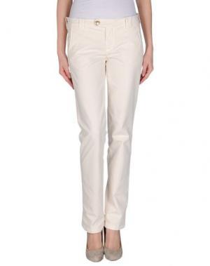 Повседневные брюки MASTAI FERRETTI. Цвет: слоновая кость