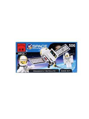 Конструктор пластиковый Космический корабль ENLIGHTEN. Цвет: белый, черный