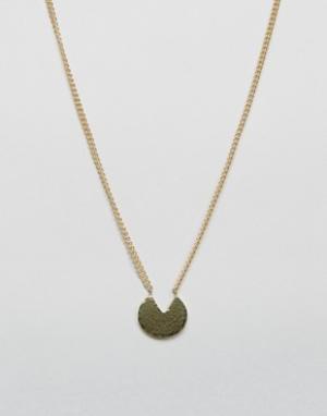Made Ожерелье Francesca. Цвет: золотой