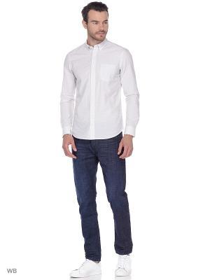 Рубашка 1PKT Wrangler. Цвет: белый