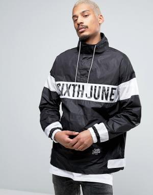 Sixth June Куртка-дождевик через голову. Цвет: черный