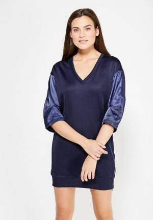 Платье G-Star. Цвет: синий