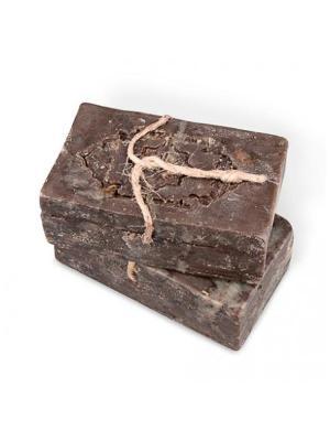 Натуральное оливково-лавровое мыло Премиум №2 с травами Зейтун. Цвет: темно-коричневый