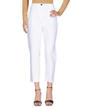 Повседневные брюки .TESSA. Цвет: белый