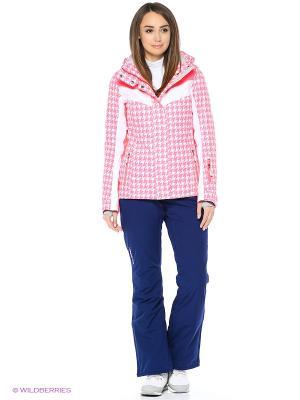 Куртка Stayer. Цвет: белый, розовый