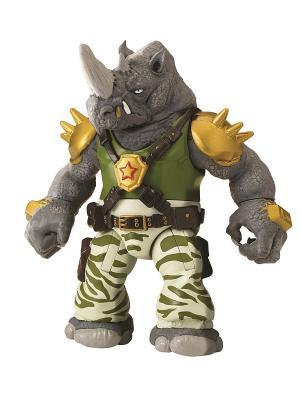 Фигурка Черепашки-ниндзя Рокстеди, 12 см Playmates toys. Цвет: зеленый, серый