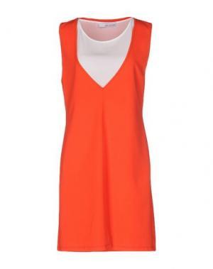 Короткое платье CHILI PEPPERS. Цвет: красный