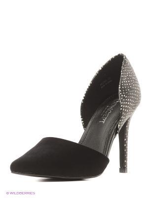Туфли Reserved. Цвет: черный