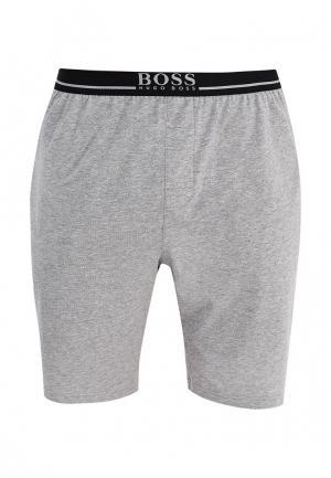 Шорты домашние Boss Hugo. Цвет: серый