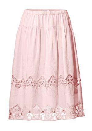 Юбка Linea Tesini. Цвет: розовый
