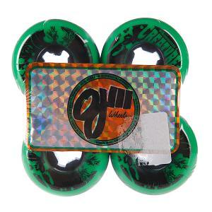 Колеса для скейтборда лонгборда  Iii Bloodsuckers Green Black 97a 52 mm Oj