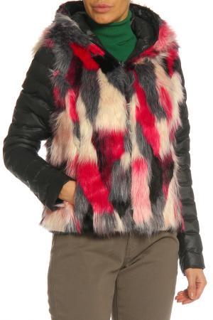 Куртка RISSKIO. Цвет: черный